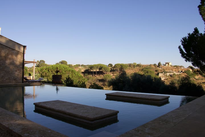 Independent suite + pool south Sicily + breakfast - Caltagirone - Apartment
