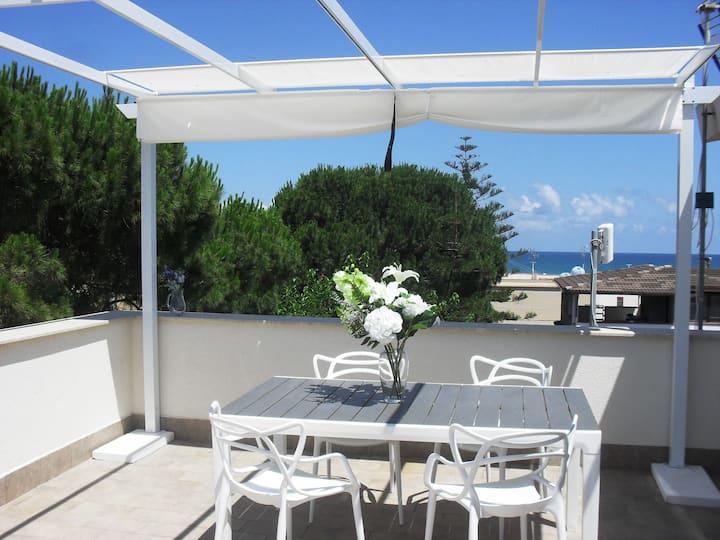 NEW ATTIC in panoramic villa