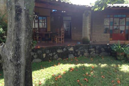 Casa rústica bella vista panorámica - Tlayacapan