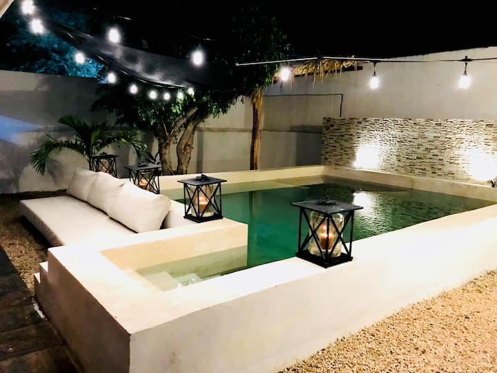 Your Secret Spot in Merida - Studio with a pool