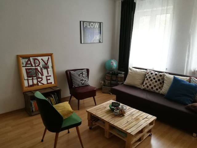 Cozy appartement close to city center and Messe - Nürnberg - Appartement