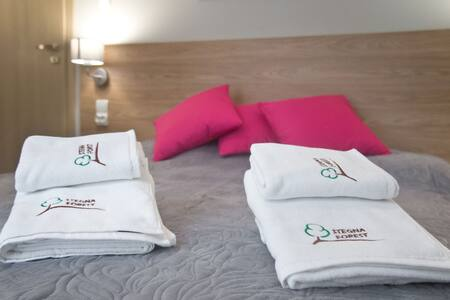 Apartament dwupokojowy standard B Stegna Forest