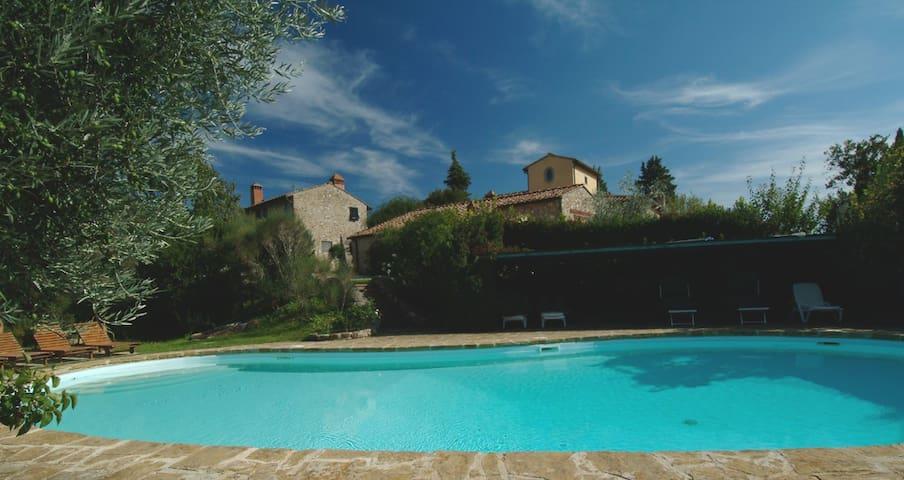 Cottage in Chianti near Florence - Montefiridolfi, San Casciano in Val di pesa, Firenze - Hus