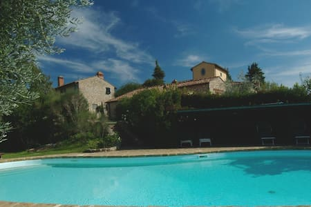 Cottage in Chianti near Florence - Montefiridolfi, San Casciano in Val di pesa, Firenze - 独立屋