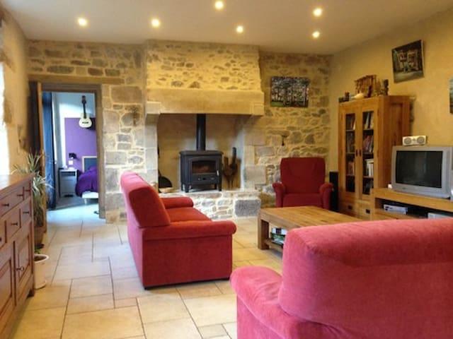 Old Breton farmhouse (8/10 p) - Saint-Quay-Perros - Casa