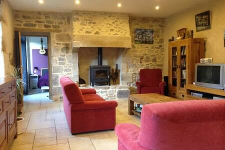 Old Breton farmhouse (8/10 p) - Saint-Quay-Perros