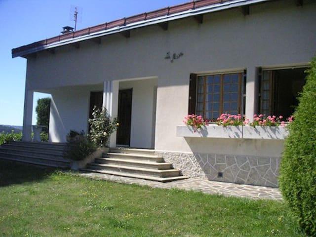 Maison 6 pers au coeur de la Lozère - Langogne - Dům