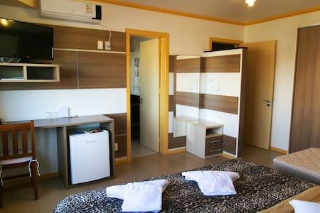 Apartamento Luxo em Hotel - Farroupilha - Inap sarapan
