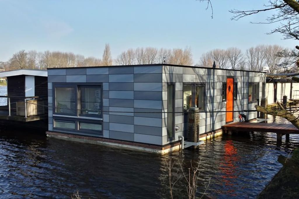 Houseboat Overlooking The Amstel Boote Zur Miete In