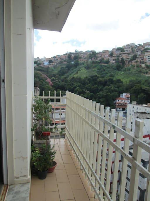 Varanda (suite) - Balcony