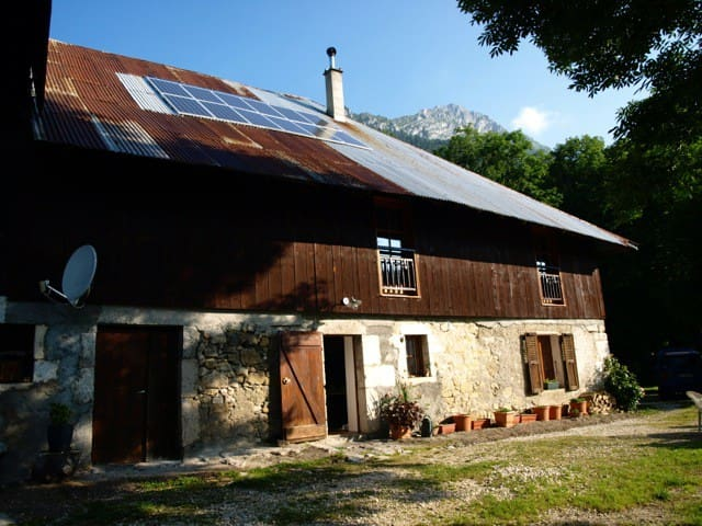 Grand cottage, very comfortable - Aillon-le-Jeune - Hus