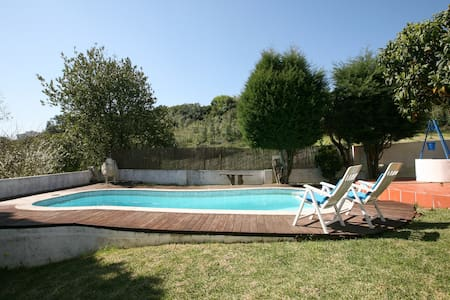 Casa Rustica com piscina e jardim( 80Km de Fátima) - Foz do Arelho - Rumah