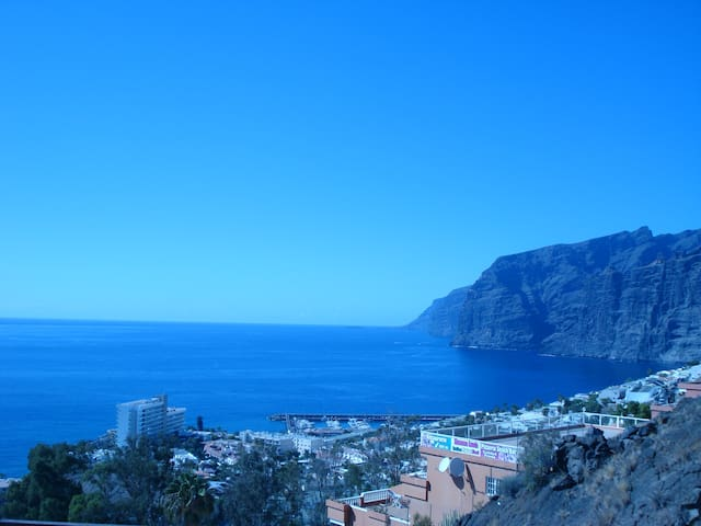 Tenerife south Los Gigantes beach - Los Gigantes - อพาร์ทเมนท์