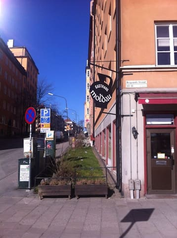 Nice, small room in lovely Södermalm