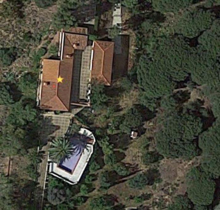 Aerial view of Finca Fotea