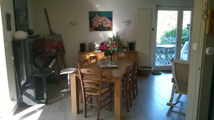 Belle maison dans cadre exceptionnel + Sauna/Spa - Bourbach-le-Haut - Dům