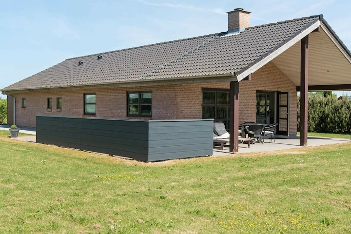 Modern Holiday Home in Jutland Denmark with Whirlpool