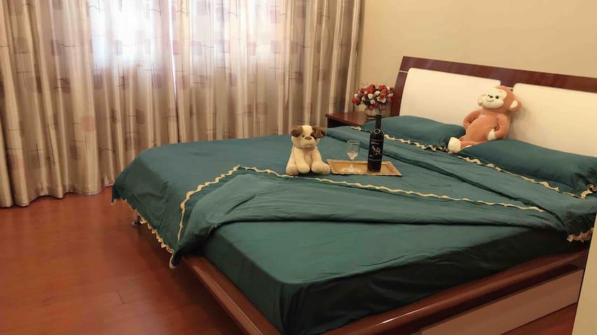干净整洁而又温馨的卧室,让您一夜好梦