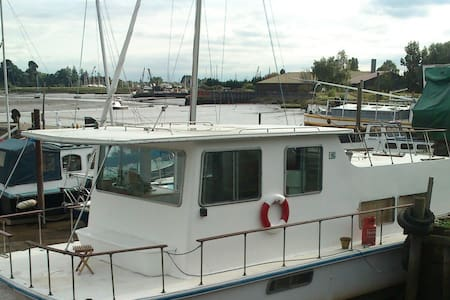 Unique Houseboat, River Deben. - Woodbridge - Tekne