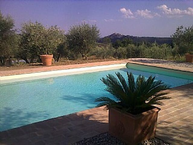 Your own pool in Umbria - Amelia - Apartamento