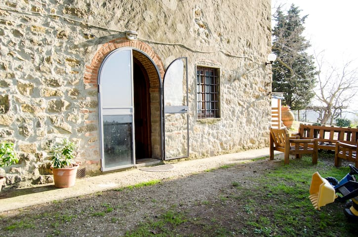 double room in tuscany countryhouse - Fornello - Cabaña