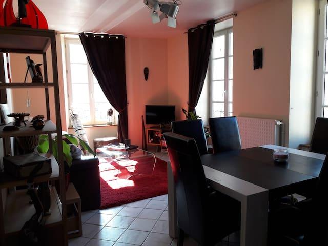 Appartement centre ville très lumineux - Fougères - Apartment