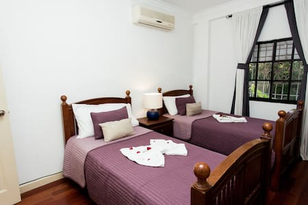 Twin Room in Colonial Villa..!! - Santo Domingo