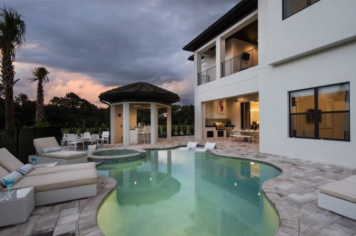 Imagine You and Your Family Renting this Custom Villa, Reunion 2030