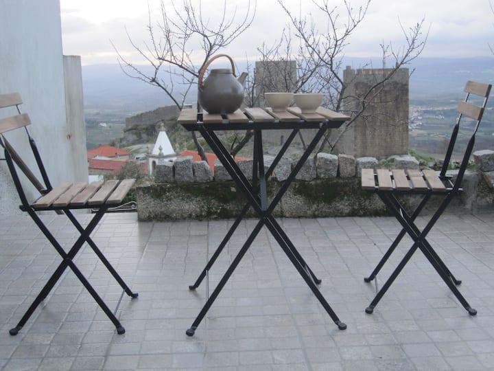 Casa do Açor - bird's eye view