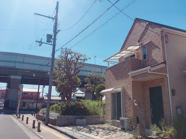 NambaVilla NearbyAshiharabashi Station FreeCarpark