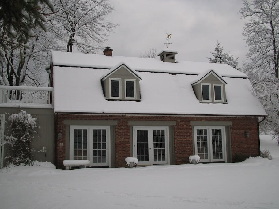 Carriage House Winter