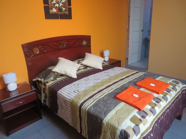 Double Room just 5 minutes airport - ลิมา - บ้าน