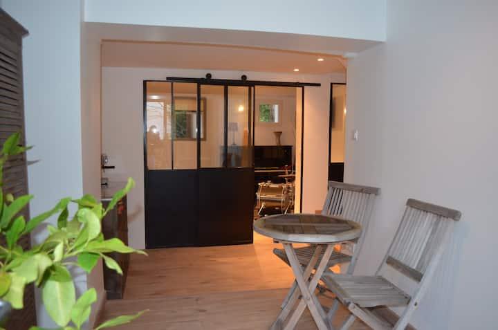 Charmant espace privatif dans maison individuelle