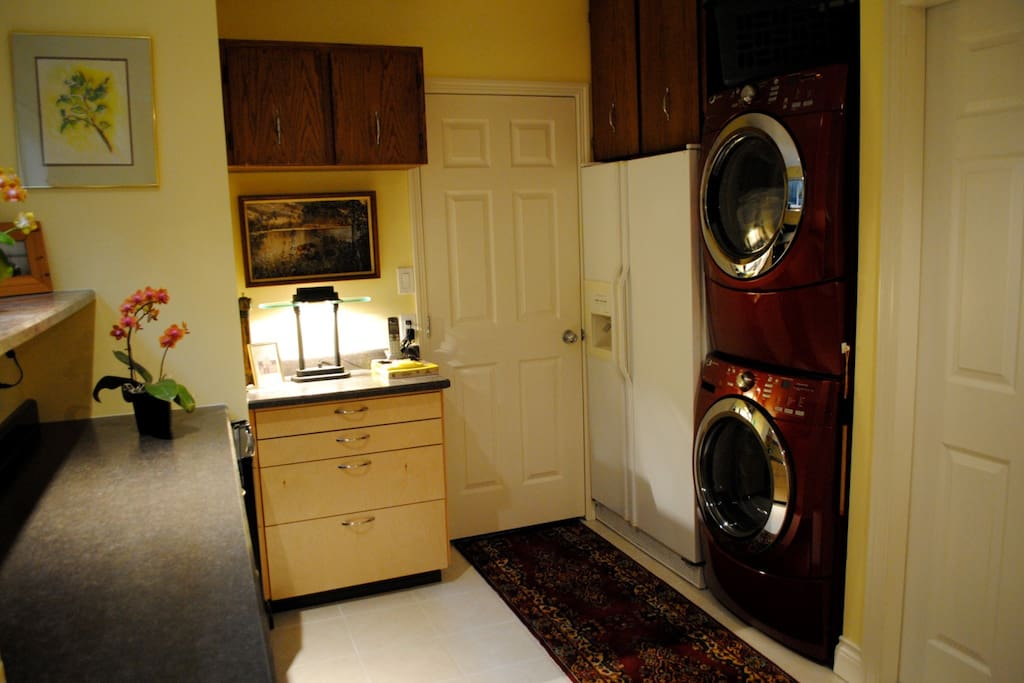 Guests laundry facilities,no charge