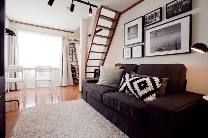 ★Mar is special price★(MAX4people06) - Meguro-ku - Appartement