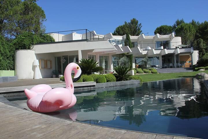 Maison d'architecte vue imprenable - Grabels - Dům
