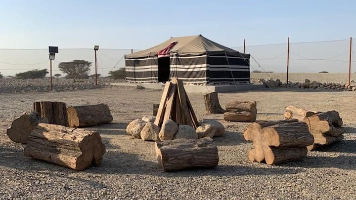 Unique Campstay at the foothills of Wadi Naqab