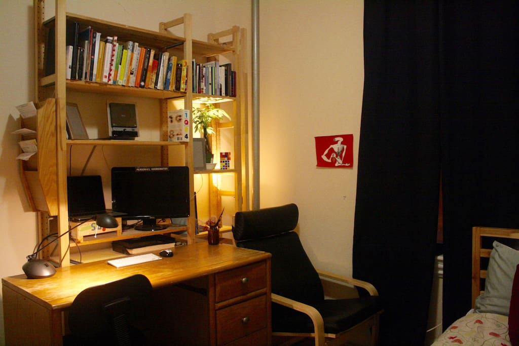 Desk and Armchair