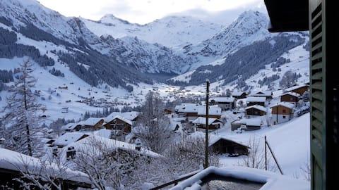 Chalet Sonnenheim with stunning views
