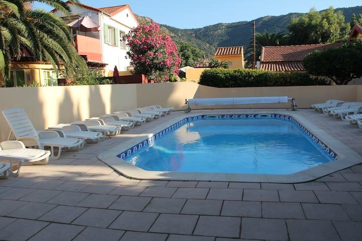 Idéal Octobre Mazet 3*** 60m mer, piscine chauffée