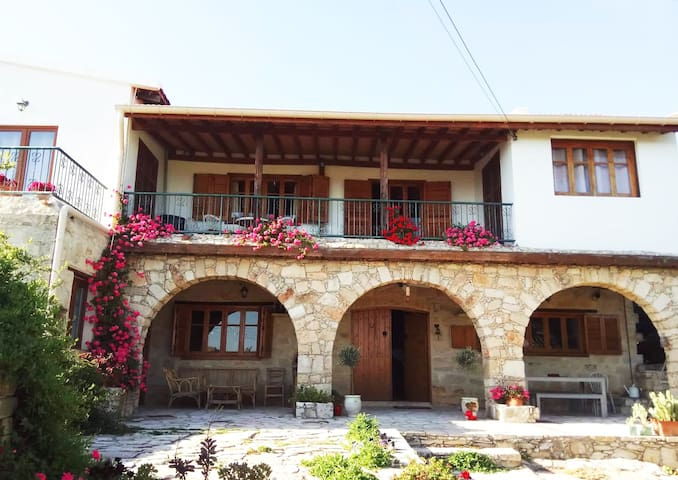 "Traditional village stone built house ""Apikreni"""