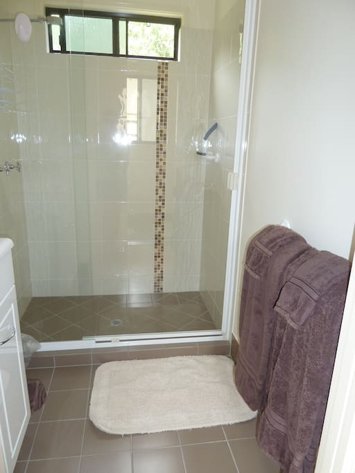 Separate Shower and Toilet facilities.