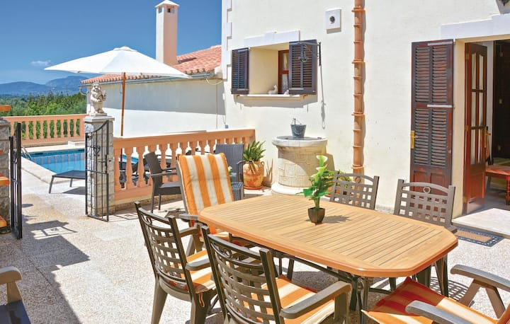 Nice home in Búger with WiFi and 3 Bedrooms