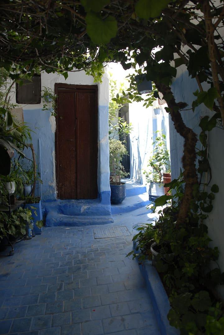 bonita casa en la medina de Tánger