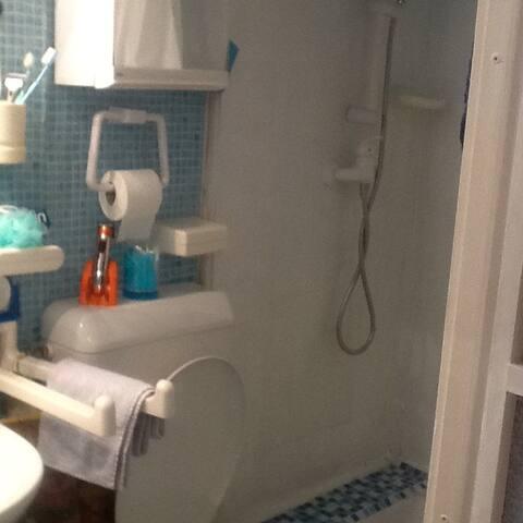 Salle de Bain et wc