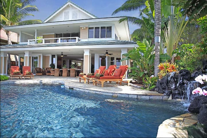 Oceanfront Dolphin House - Heated Pool/Luxurious