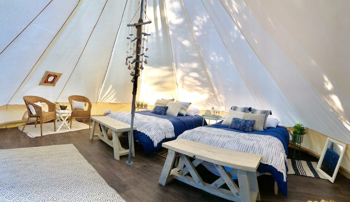 The Happy Canvas Bell Tent
