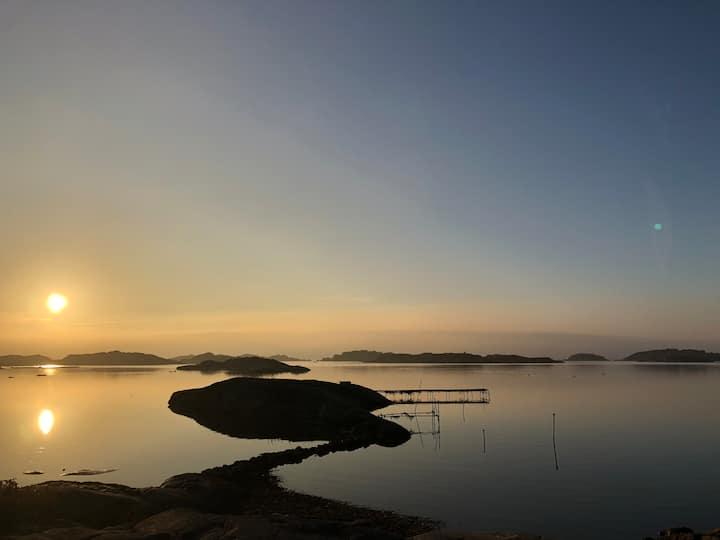 Helt radhus i Billdal nära Göteborg och hav!