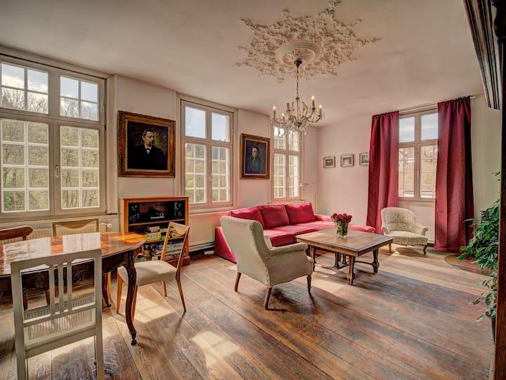 Haus Barkhausen- Bel Etage- gediegenes Ambiente