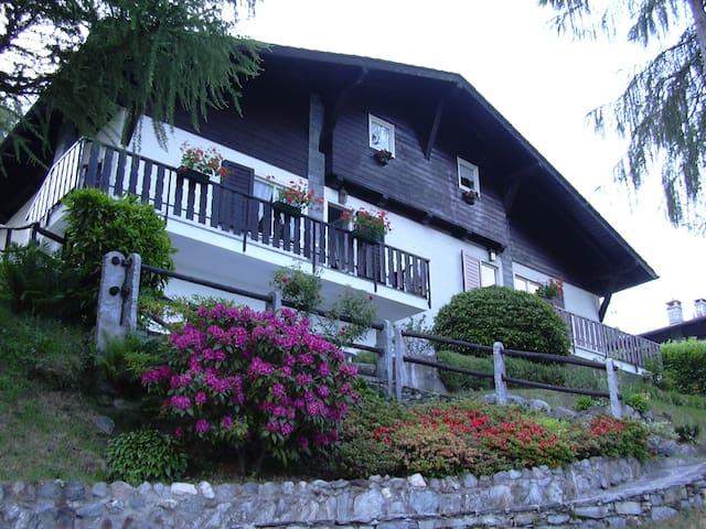 Villa con piscina - Lago Maggiore - Trarego Viggiona - Casa de campo